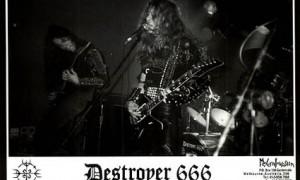 Destroyer 666 Live
