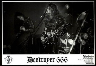 Destroyer 666 Live