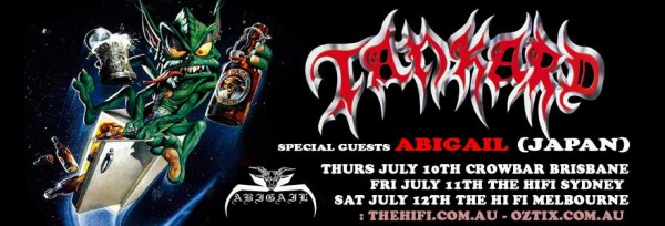 Tankard (Germany) & Abigail (Japan) live in Australia